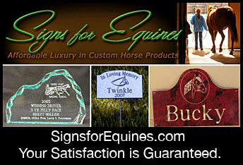 Signs for Equines