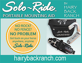 Solo-Ride Portable Mounting Aid