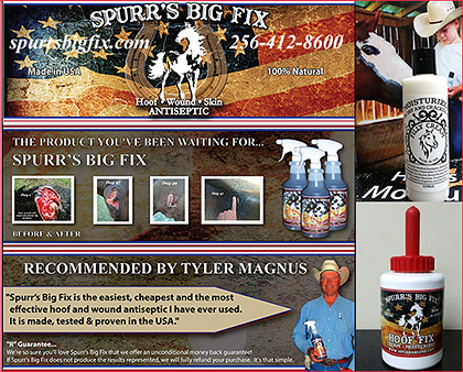 Spurrs Big Fix Horse Wound Spray