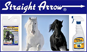 Straight Arrow Horse Grooming Products