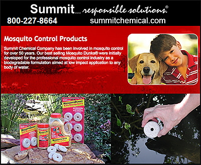 Summit Chemical Mosquito Control Products