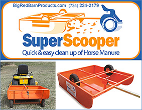Super Scooper Cleans Horse Manure