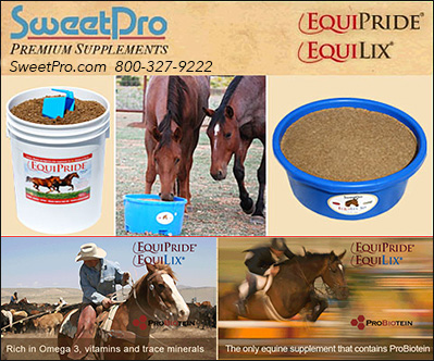 SweetPro Premium Horse Supplements