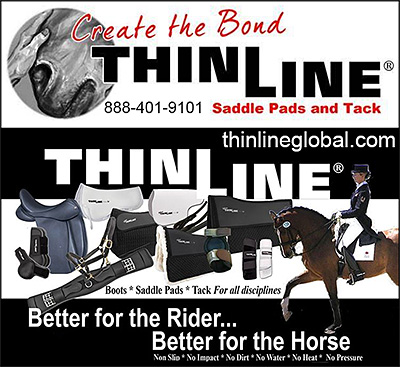 ThinLine Saddle Pads and Horse Tack