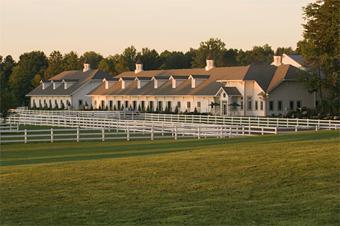 Tom Croce designed Horse Barn