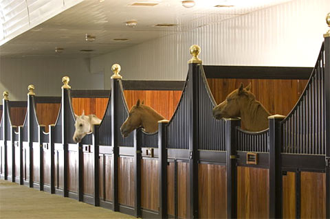Horse stalls with Ventilation