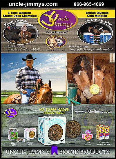 Uncle Jimmy Brand Horse Products