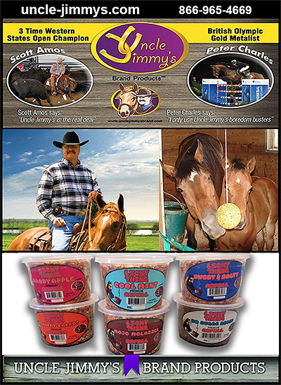 Uncle Jimmys Horse Products and Horse Treats
