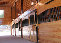 Woodstar Products Affordable Horse Stalls