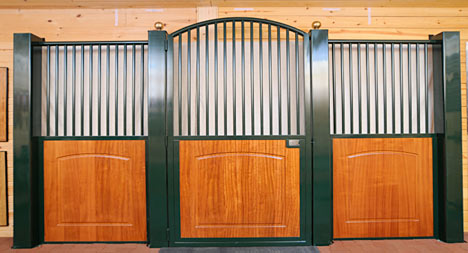 Beautiful Horse Stalls increase the value of your property!
