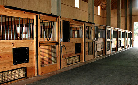 horse stall design nicely ventilated horse stall
