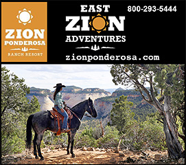 Horse Riding Tours with Zion Ponderosa Ranch Resort